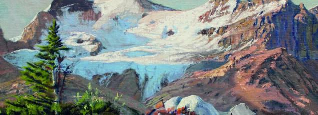 Morning Light on Glacier