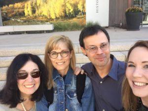Kathy Anderson, Susan Lyon, Scott Burdick & Symi Jackson